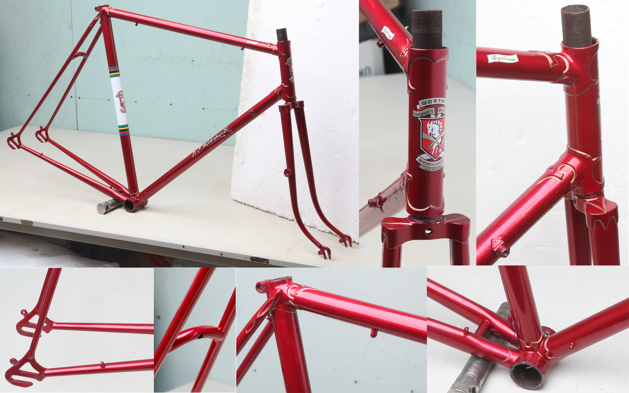 Hilary Stone Classic Bike Frames Pre 1970 P2