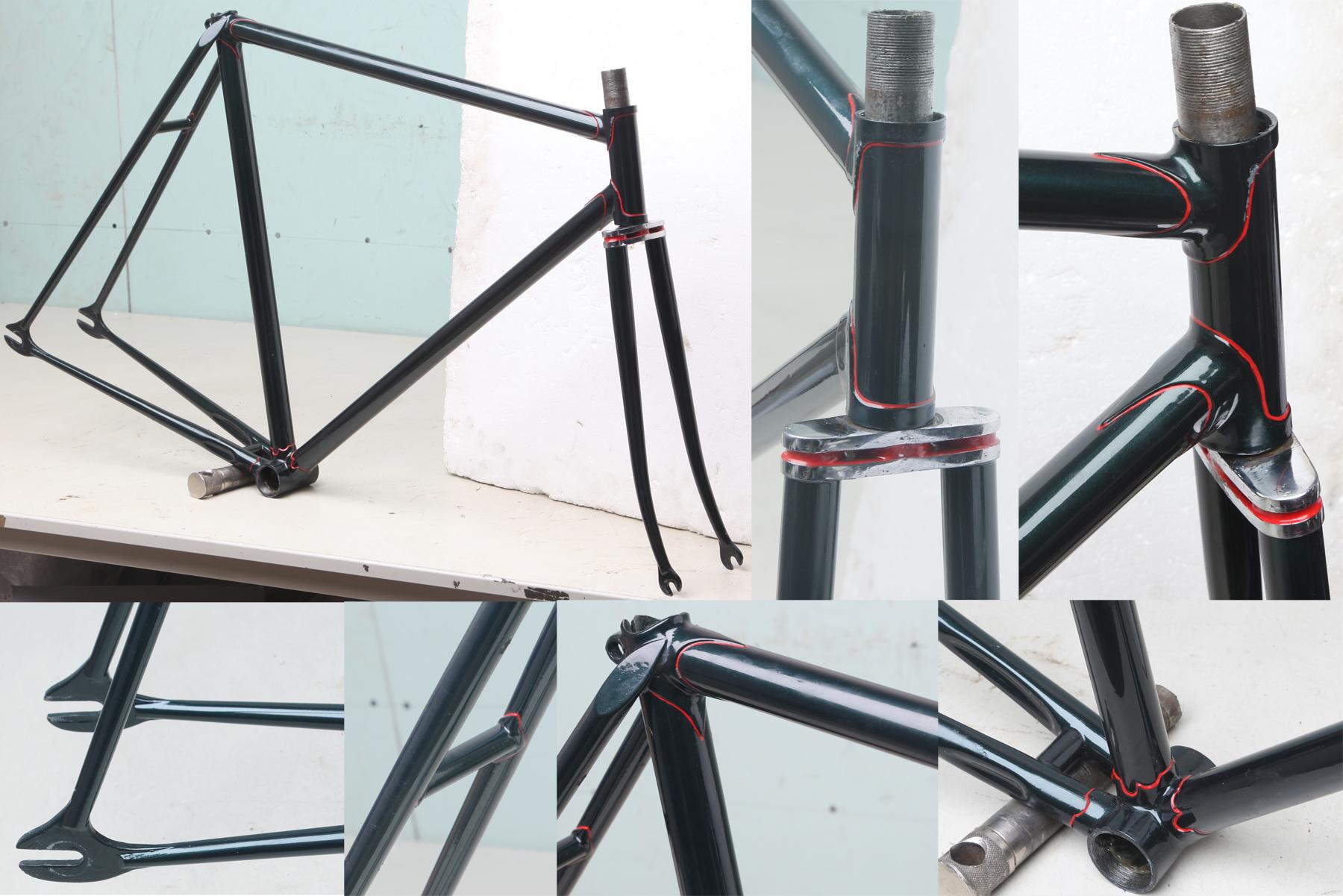 Hilary Stone European Bike Frames page 1