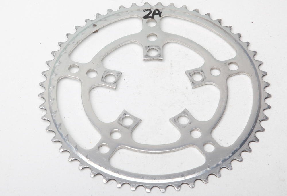 STRONGLIGHT ZIRCAL 7075 ALLOY BLACK 130mm BCD SHIMANO CHAINRING   51T OUTER