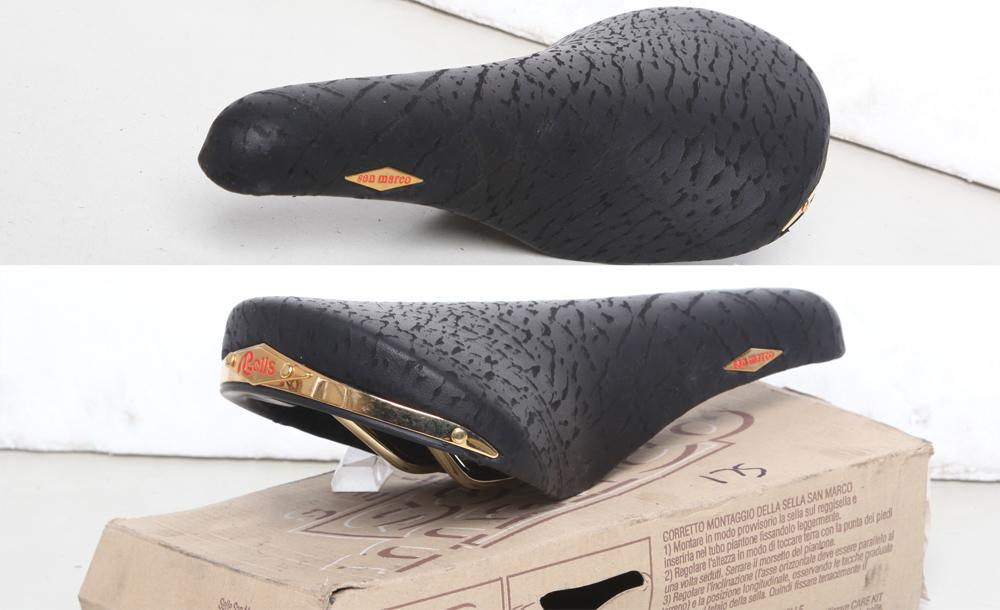 Black Selle San Marco Concor Profil Saddle